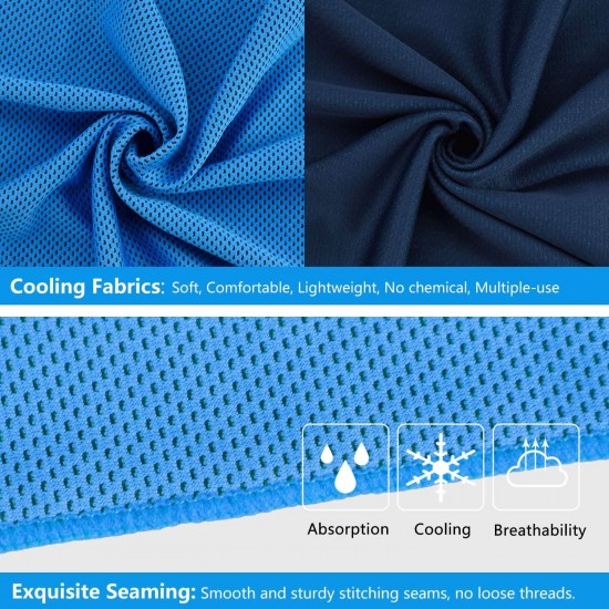 Chilly Pad Instant Cooling Towels ( 2 Pack )