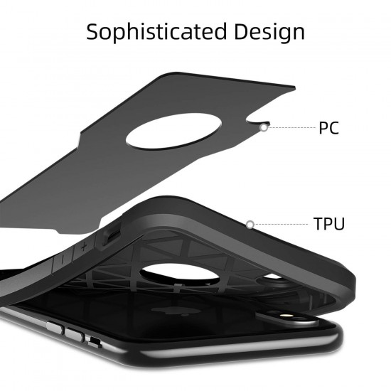 Shock Absorption Bumper Case Compatible with iPhone