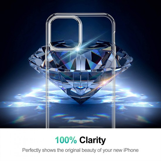 Pure Clear Case Compatible with iPhone - Transparent