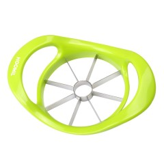 Apple Slicer, HOOMIL Apple Cutter Corer Divider with Ultra Sharp Stainless Steel Blade and Ergonomic Grip Handle - HU3116 (Green)