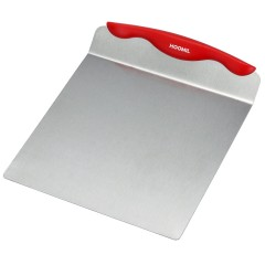 HOOMIL Cake Lifter Stainless Steel Cake and Pizza Lifter Transfer Tool, 8-inch (Red)