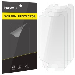 Galaxy J5 (2016) Screen Protector, HOOMIL [HD Clear] [Scratch Resistant] Screen Protection Film for Samsung Galaxy J5 2016 (4-Pack)