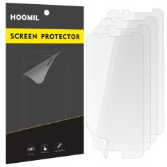 Galaxy J7 (2016) Screen Protector, HOOMIL [HD Clear] [Scratch Resistant] Screen Protection Film for Samsung Galaxy J7 2016 (4-Pack)