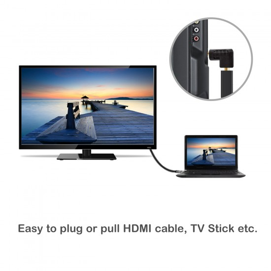 270 Degree Angle HDMI Adapter (2-Pack)